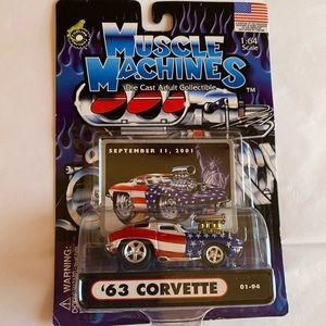 Muscle machines die cast '63 corvette